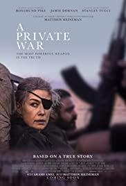 Matthew Heineman: A private war (2019)